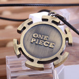One Piece Necklace - Trafalgar Law Heart Pirates Logo - AnimeBling - 4
