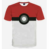 Pokemon T Shirt - 3D Pokeball - AnimeBling - 1