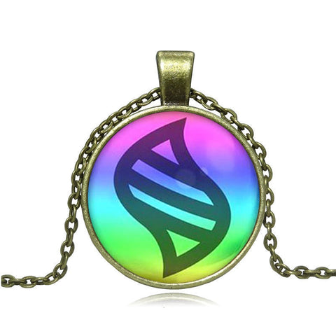 Pokemon Glass Dome Necklace - Mega Stone - AnimeBling - 1