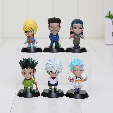 Hunter X Hunter Figures - 6 Pcs/Set - AnimeBling - 1