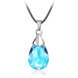 Sword Art Online Necklace - Yui's Blue Crystal Pendant - AnimeBling - 1