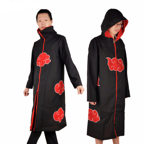 Naruto Cosplay - Akatsuki Costume Hooded - AnimeBling - 1