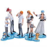 Bleach Figures 8 Pc/Set - Ichigo, Renji, Rukia & More - AnimeBling - 6