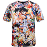 Dragon Ball Z Shirt - 2016 New Arrival 3D Print - AnimeBling - 1