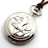 Fullmetal Alchemist Pocket Watch - Silver Set with Gift Box - AnimeBling - 8