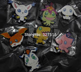 Digimon Keychain - 4 Pcs/Set - AnimeBling - 2