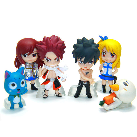 Fairy Tail Figures - 6 Pcs/Set - AnimeBling - 1