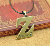 Dragon Ball Z Necklace - Gold Z Style - AnimeBling - 2