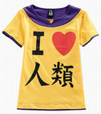 No Game No Life Shirt - Sora Cosplay Costume - AnimeBling - 1