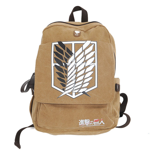 Attack on Titan Backpack - AnimeBling - 1