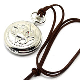 Fullmetal Alchemist Pocket Watch - Silver Set with Gift Box - AnimeBling - 7