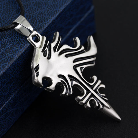 Final Fantasy - Lionheart Squall Necklace - AnimeBling - 1