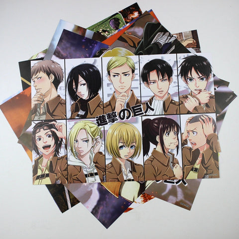 Attack on Titan Posters - 8 Pcs/Set - AnimeBling - 1