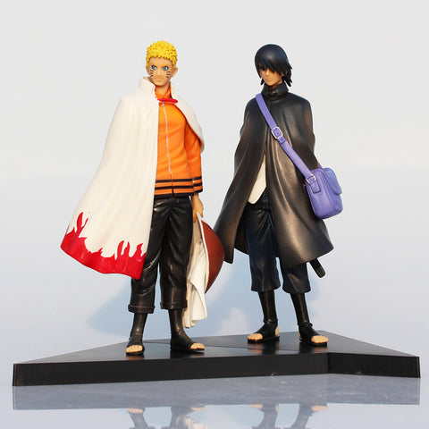 Naruto & Sasuke Action Figures - 2 Pcs/Set - AnimeBling - 1