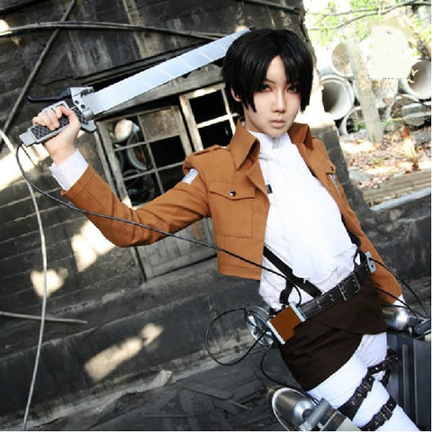 Attack On Titan Cosplay Survey Corps Jacket Animebling