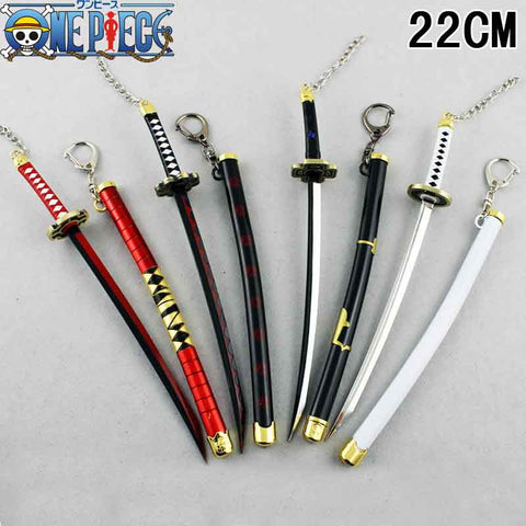 One Piece - Roronoa Zoro Swords Figure Keychain (4 Styles) - AnimeBling - 1
