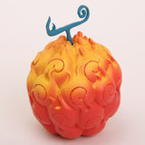 One Piece Devil Fruit - Ace Flame-Flame Fruit & Luffy Gum-Gum Fruit - AnimeBling - 2
