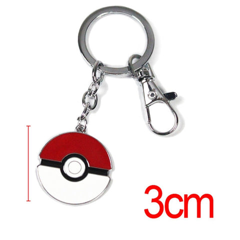 Pokemon Pokeball Keychain - 12 Styles - AnimeBling - 1