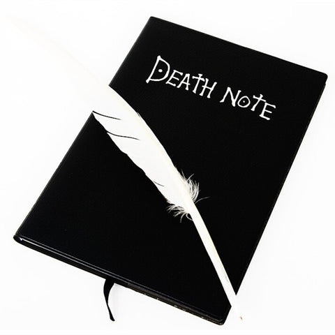 Death Note Notebook + Feather Pen - AnimeBling - 1