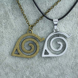 Naruto Necklace - Konoha Leaf Village Symbol - AnimeBling - 4