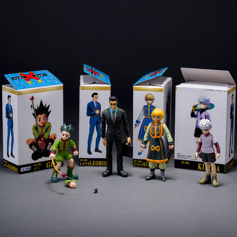Hunter X Hunter Action Figure - 4 Pcs/Set - AnimeBling - 1