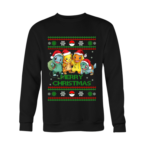 Pokemon Christmas Sweater - AnimeBling - 1