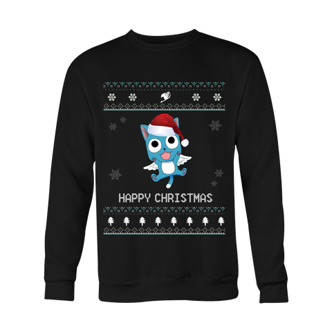 Fairy Tail Christmas Sweater - Happy - AnimeBling - 1