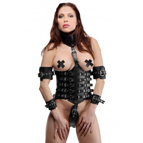 Ultimate Lockdown Female Waist Cincher - Harness - Sexy Vibes