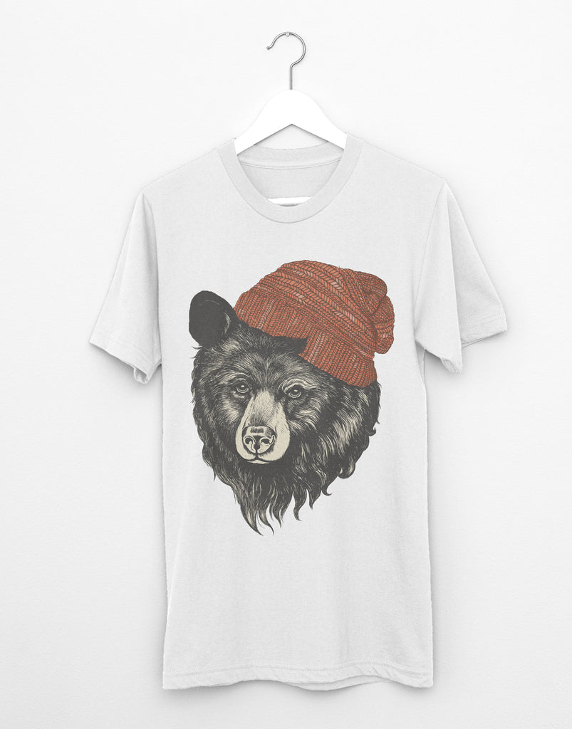 Zissou The Bear (White)