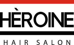 heroine hair salon logo