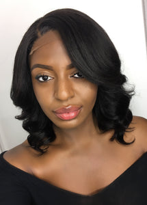 Natural Kinky straight hair for black women human hair bleached knots hackney London uk affordable cheap wigs luxury wigs