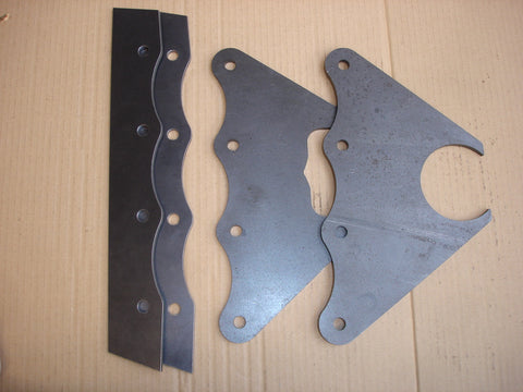 B1028 - Slingshot/Altered Axle Bracket Set
