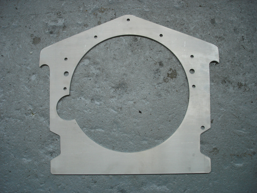 Big Block Chevy Dragster Motor Plates
