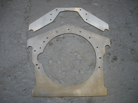 Big Block Mopar Dragster Motor Plates