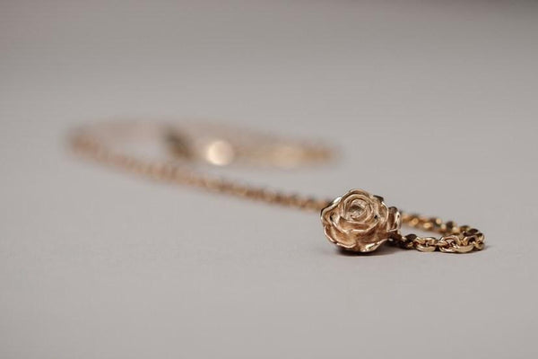 Gold plated Solid 925 Sterling Silver Lapel Chain - The Bespoke Shop