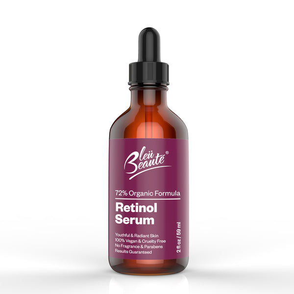 Retinol Serum (2.5%) -High potency anti-aging moisturizing serum  -  for spots and wrinkles ( 2 OZ) (*)