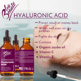 Hyaluronic Acid Serum - dark spot removing facial serum for aging and wrinkle ( Big 2 Oz) (*)