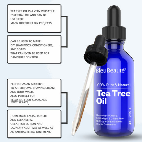 Tea Tree OIl - Used for Mole and Skin Tag Removal (*)