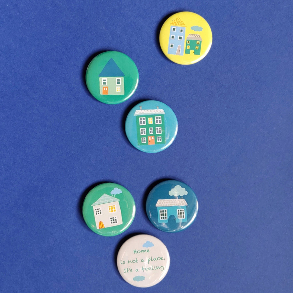 Pied-a-Terre Badges