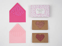 Lasercut Hearts Stationery Set