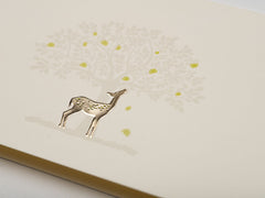 Golden Deer Stationery Set