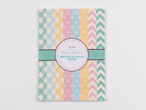DIY Scrap Book Paper Pad