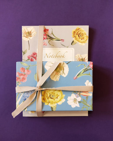 Florist Notebook and Stationery Set