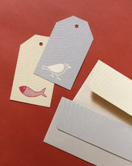 Folklore Tags and Money Envelope Set