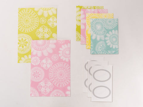 Lace Gift Envelope Set