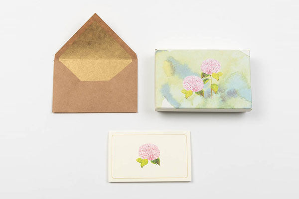 Hydrangea Stationery Set
