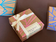 Shards square Confectionery boxes - set of 6