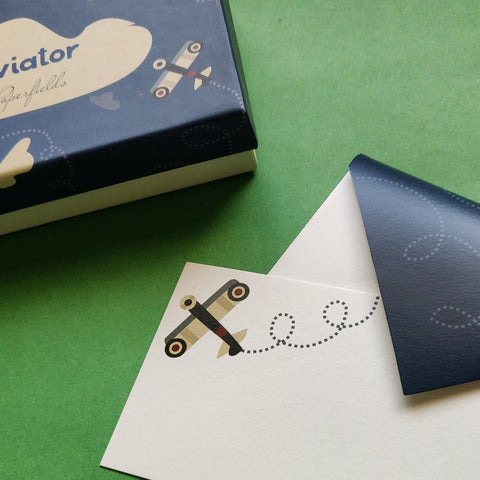 Aviator Stationery Set