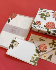 Magnolia Stationery and Avanti notepad set
