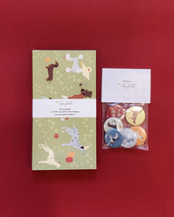 Pawsome Money envelopes and Badges